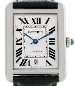 9619af27b93d9 Les fausses montres Cartier Tank à prix réduits en ligne offrent une  élégance pour les hommes.