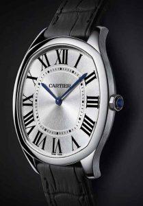 Boîtiers ultra-minces sont appliqués pour les montres de reproduction Cartier modernes.