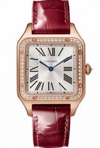 Fausses montres offrent la forme carrée classique.